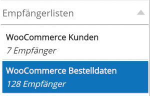 WooCommerce Newsletter Anbindung