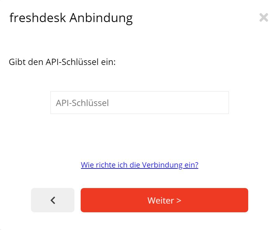 freshdesk Newsletter Anbindung Schritt 3